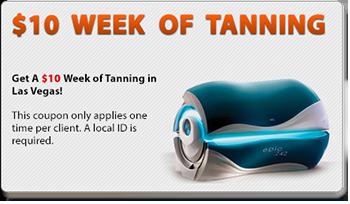 $10 Week of Tanning