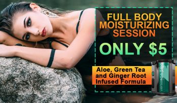 $5 FULL BODY MOISTURIZING SESSION