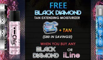 FREE Black Diamond Moisturizer & Tan!