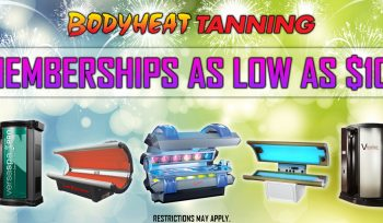 Unlimited Tanning starting at $10 per month!