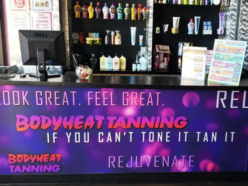 Salon Tour Bodyheat Tanning